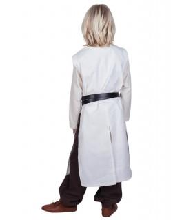 Tabard bambino Templari, naturale, bianco