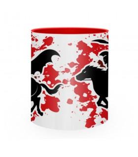 Tazza di ceramica Lotta Spartan