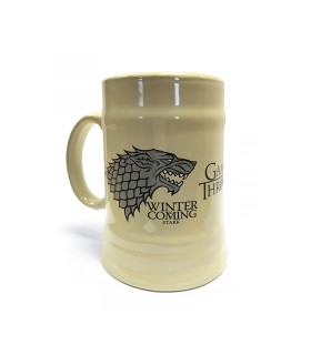 Vaso ufficiale di Game of Thrones, la Casa Stark