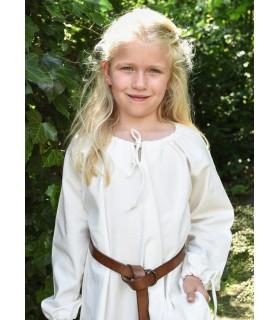 Abito viking bianco Ana, ragazza