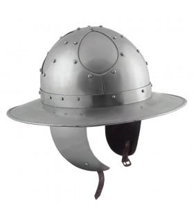 Casco Bollitore Pronta alla Battaglia, in acciaio di 2 mm.