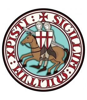 Asciugamano Giro Cavalieri Templari di Cotone (varie misure)