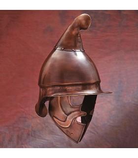 Casco Hoplita Ateniese finitura bronzo