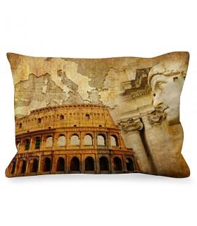Cuscino Rettangolare Imperatore Romano vicino al Colosseo