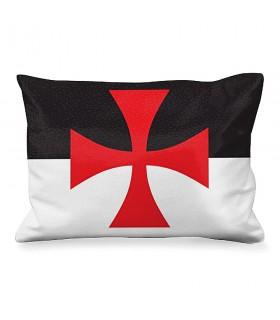 Cuscino Rettangolare a Croce di malta dei cavalieri Templari
