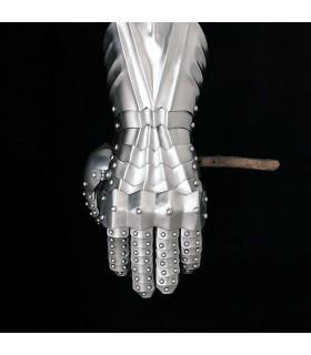 Guanti flange rive, acciaio 1,3 mm