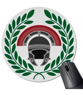 Tappetino per mouse rotondo Centurione romano