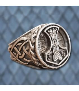 Anello Viking Martello di Thor