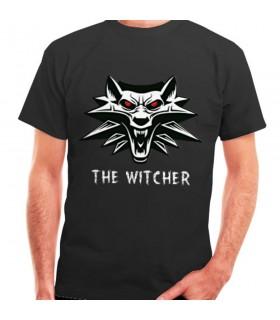 T-shirt di The Witcher nero, manica corta