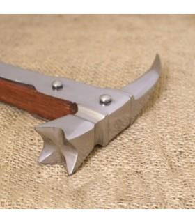 Il martello Medievale becco di un corvo, (70,5 cm.)