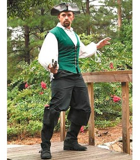 Pantaloni pirati lungo aglodón