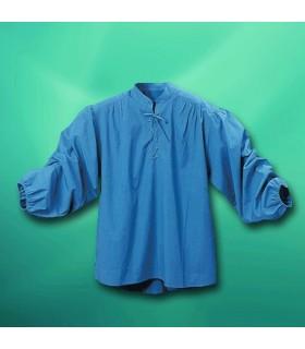 Camicia Corsair con collo alto