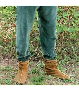 Pantaloni medievale in velluto elastico