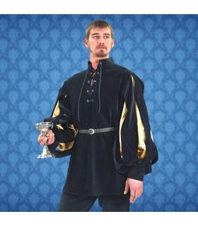 Camicia Rinascimento Cavalier, velluto