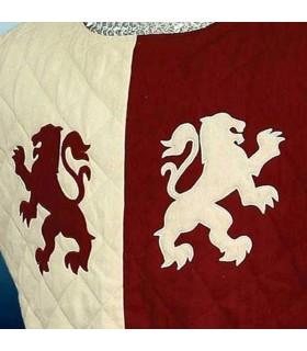 Gambesón medievale Lions Barone