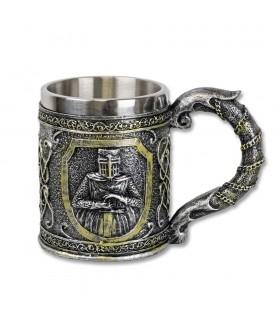 Coppa decorazione Templari