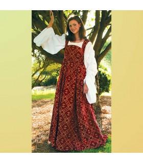 Abito medievale Fiore del Lys