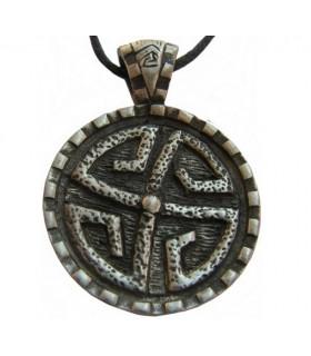 Ciondolo scudo di Pietra Celtica