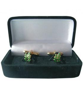 Gemelli Massonici Ramo di Acacia con gioielliere