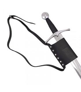 Cintura semplice con tahalí per la spada