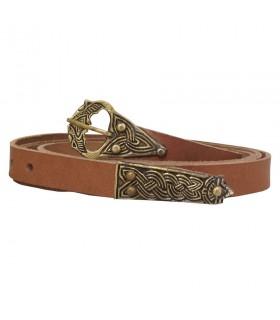 Cintura in pelle Medioevo