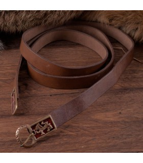 Cintura lungo medioevale con i lions