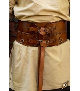 Cintura medievale di larghezza, doppia guarnizione