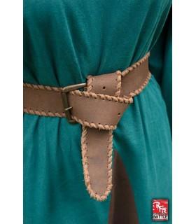 Cintura medievale in pelle, 100 cm