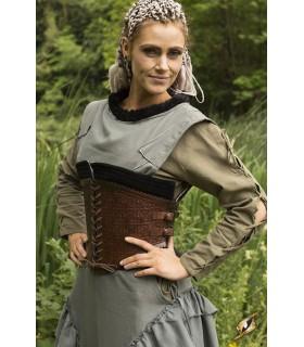 Corsetto medievale in pelle, Margot