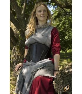 Corsetto medievale in pelle, l'Elfo della Notte