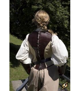 Corsetto medievale in pelle Canaglia
