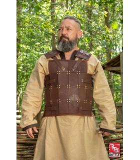Armatura medievale Guerriero, pelle