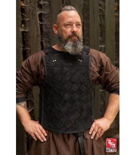 Armatura viking in pelle-nero