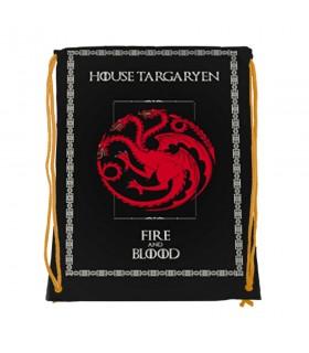 Zaino stringhe Targaryen di Game of Thrones (cm 34x42.)