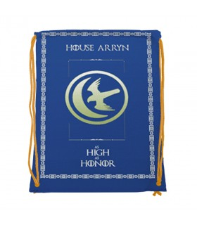 Zaino stringhe di Casa Arryn Game of Thrones (cm 34x42.)