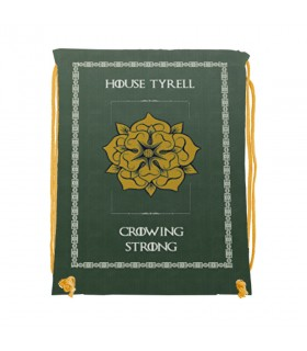 Zaino stringhe di Casa Tyrell di Game of Thrones (cm 34x42.)