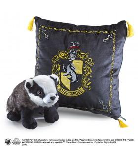 Cuscino peluche e casa di Tassorosso, Harry Potter