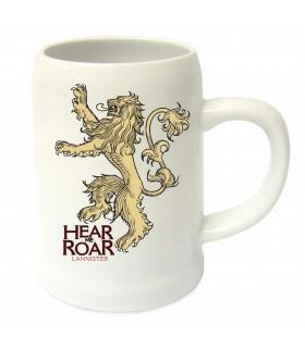 Vaso in ceramica di casa Lannister, da Game of Thrones
