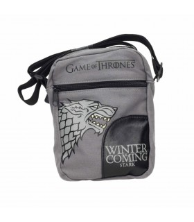 Borsa piccola in tessuto di tela Stark di Game of Thrones - a Game of Thrones