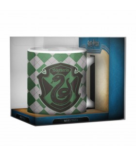 Tazza In Ceramica Bianca Slytherin Harry Potter