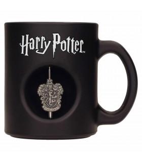 Coppa in Vetro nero da Harry Potter Gryffindor