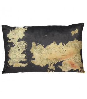 Cuscino con la mappa di westeros da Game of Thrones