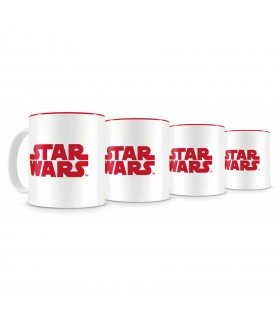 Set di 4 Mini Tazas Cafe Star Wars Episodio VIII
