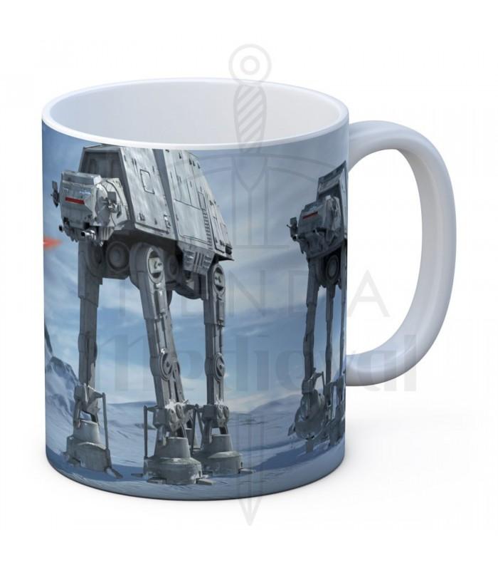 Tazza di ceramica bianca Battaglia di Hoth da Star Wars ...