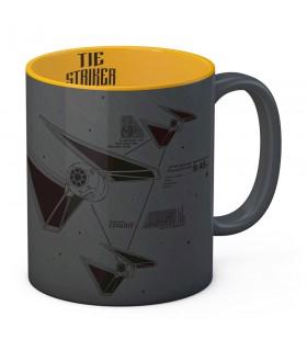 Tazza di ceramica-Grigio-Giallo Attaccante di Star Wars