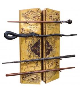 Espositore 4 Bacchette con la Mappa del Malandrino di Harry Potter