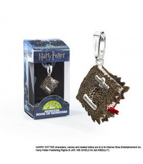 Ciondolo Mostro Libro dei Mostri, Lumos, Harry Potter