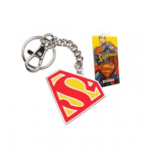 Portachiavi scudo di Superman in colore