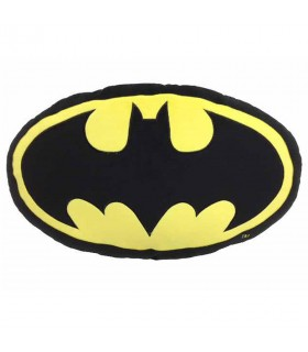 Cuscino ovale logo di Batman, DC Comics