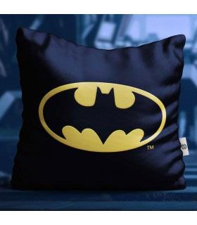 Cuscino quadrato logo di Batman, DC Comics